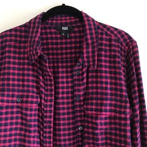PAIGE | Red Flannel M